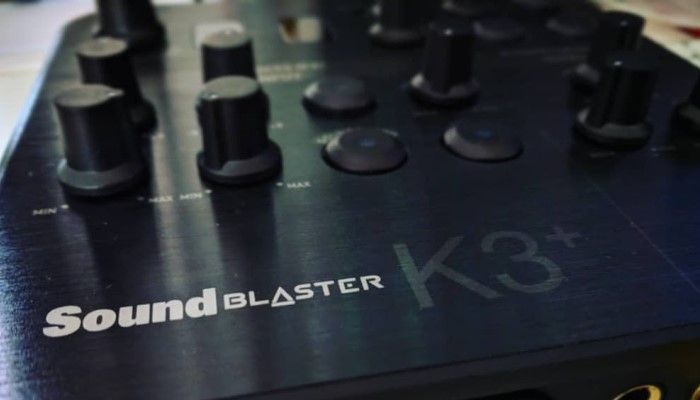 Sound Blaster K3+ USB Recording & Streaming Mixer: Level Up Your Setup