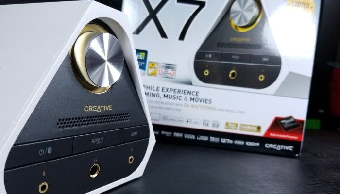 - Creative Sound Blaster X7 Limited Edition: Time to Level Up
