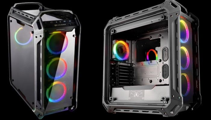 Cougar Panzer EVO RGB Chassis: Big and Bold