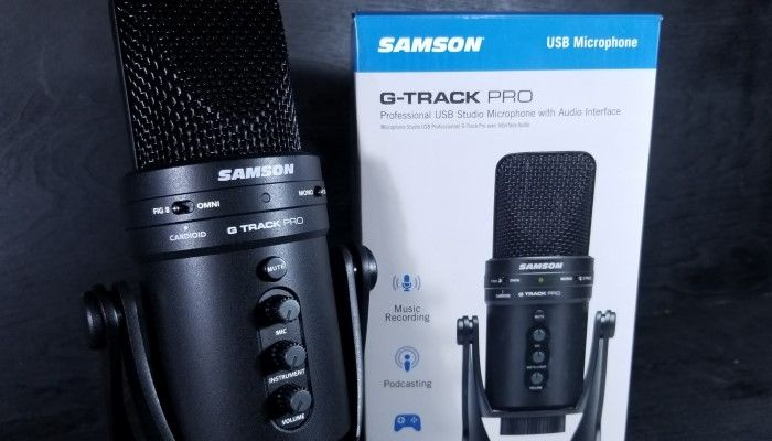 Samson G-Track Pro: This Streaming Mic has a KILLER Feature