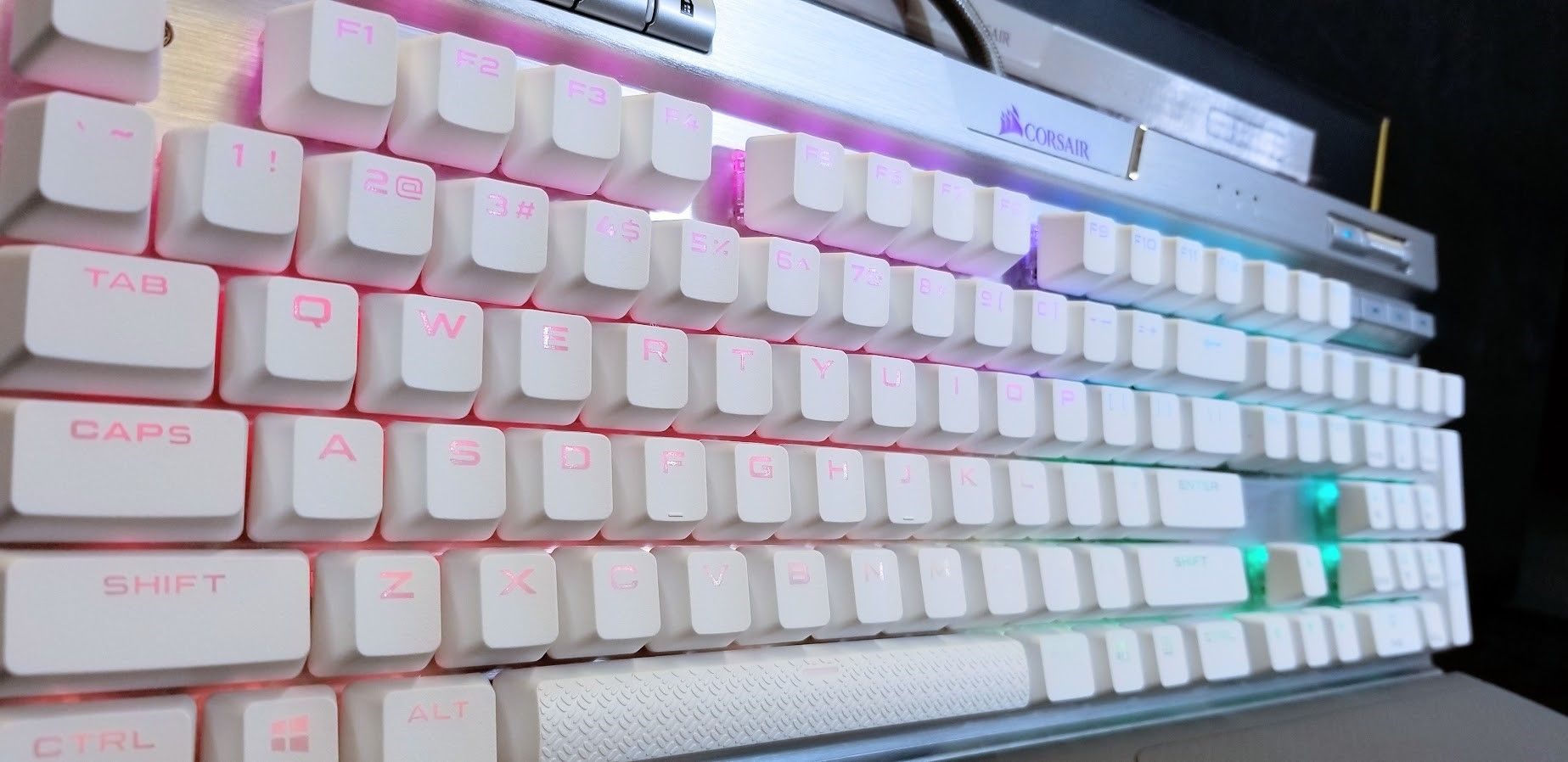 Corsair K70 Mk. 2 SE: More Platinum than Platinum