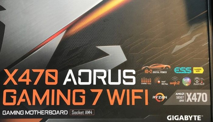X470 AORUS Gaming 7 WiFi: Gigabyte's AMD-based Flagship