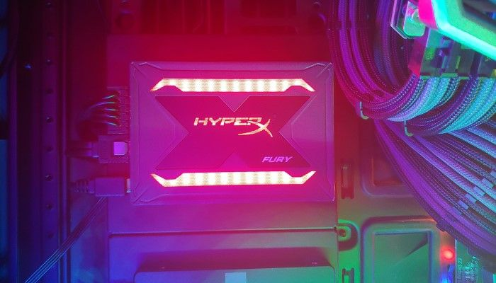 HyperX Fury RGB SSD Review