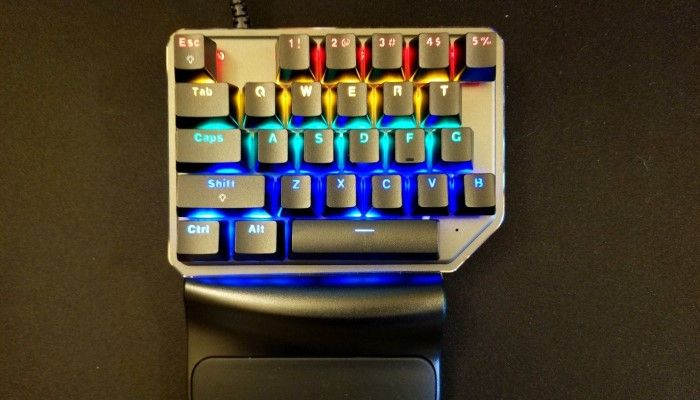 Motospeed K27 Single-handed Mechanical Keyboard Review