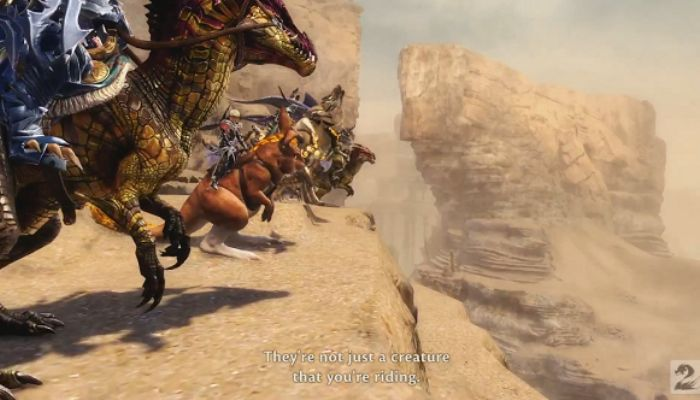 Guild Wars 2 Mount Racing Making a Mountain out of a Wurmhill