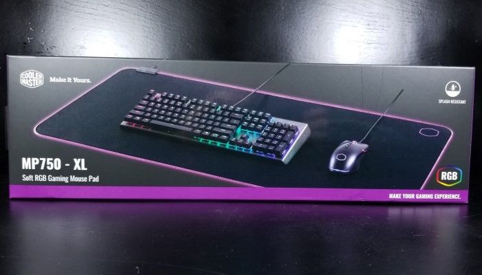 Cooler Master MP750 RGB Mousepad Review