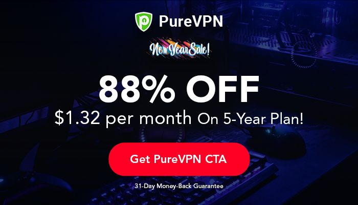 Hottest New Year Deal: 5 Years of PureVPN for $79 (SPONSORED)