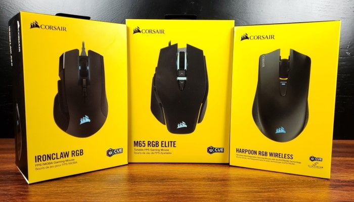 First Look: Corsair's Q1 2019 Mouse Line-Up