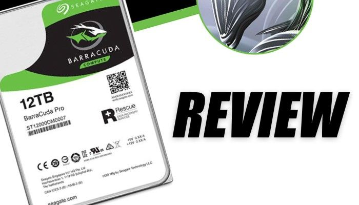 Seagate BarraCuda Pro 12TB HDD Review