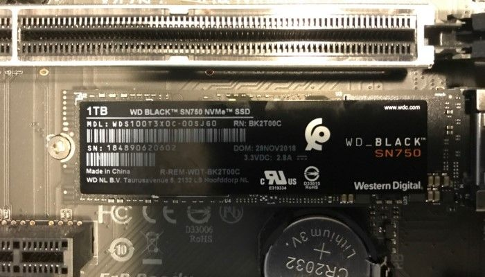 WD Black SN750 1 TB NVMe SSD: Storage With The New Black