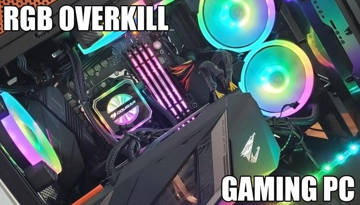 PC Build: The RGB Overkill Gaming PC - MMORPG com