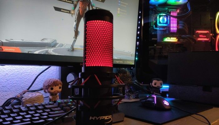 HyperX QuadCast Microphone: A Slam Dunk for HyperX - MMORPG com