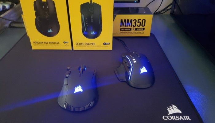 Corsair Ironclaw RGB Wireless & Glaive RGB PRO Combined Review