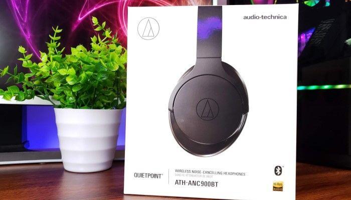 Audio-Technica ATH-ANC900BT QuietPoint ANC Bluetooth Headphone Review