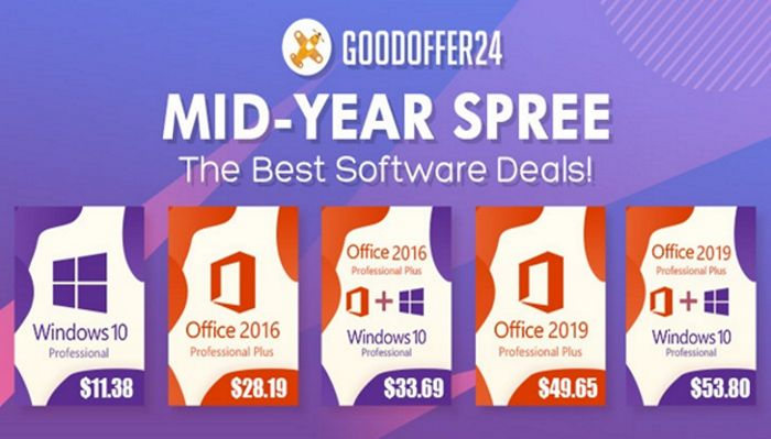 MID-YEAR MADNESS Hits GoodOffer24: The Best Software Deals! (SPONSORED)