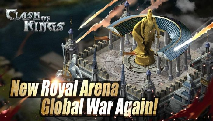 Clash of Kings Royal Arena, Global War Again! (SPONSORED)