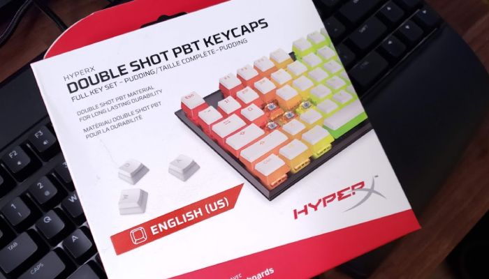 HyperX White Double Shot PBT Keycaps Review