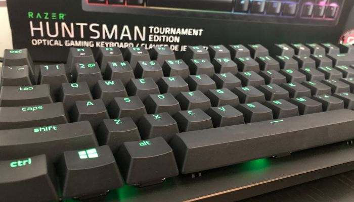 Razer Huntsman Tournament Edition: Get Your Mark