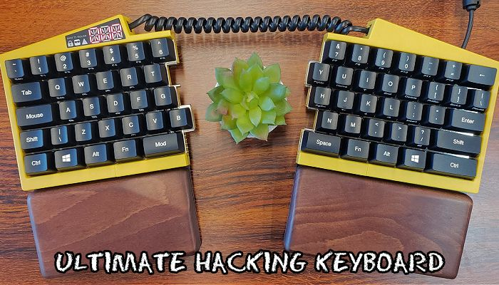 Ultimate Hacking Keyboard Review