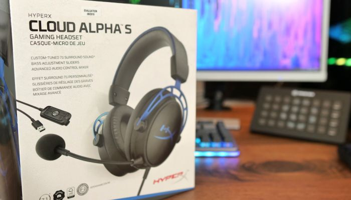 HyperX Cloud Alpha S 7.1 Surround Sound Gaming Headset Review