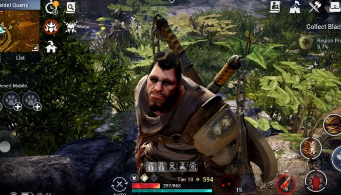 Black Desert Mobile Preview