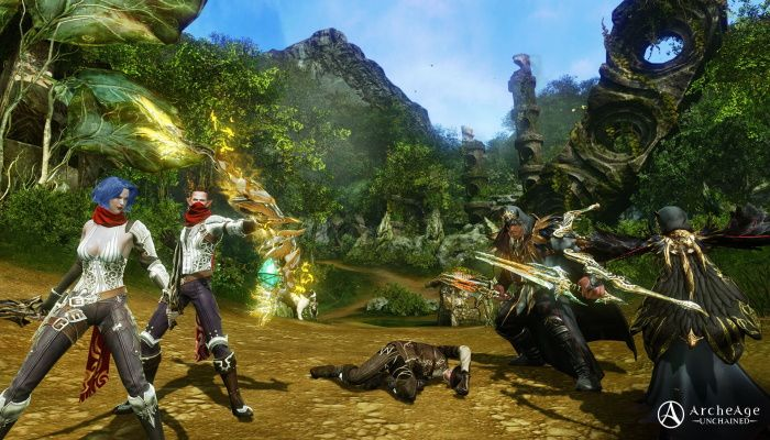 Red Returns To ArcheAge: Unchained