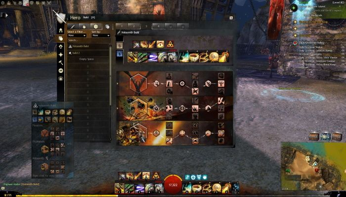 Guild Wars 2 Build Templates Impressions