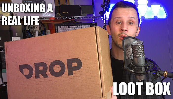 Unboxing a Real Life Loot Box: Drop Bounty Box 2