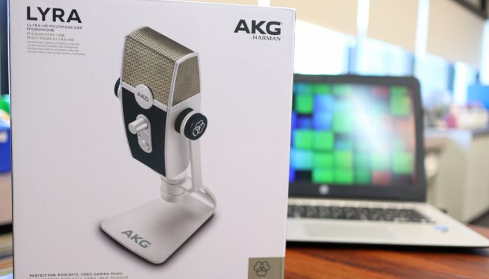 AKG Lyra USB Condenser Microphone Review