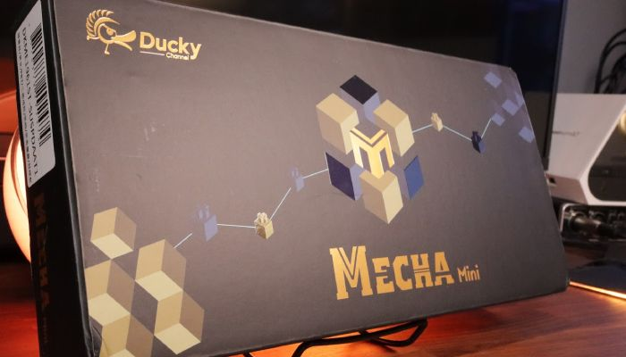 Ducky Mecha Mini Mechanical Keyboard Review: Heavy Metal