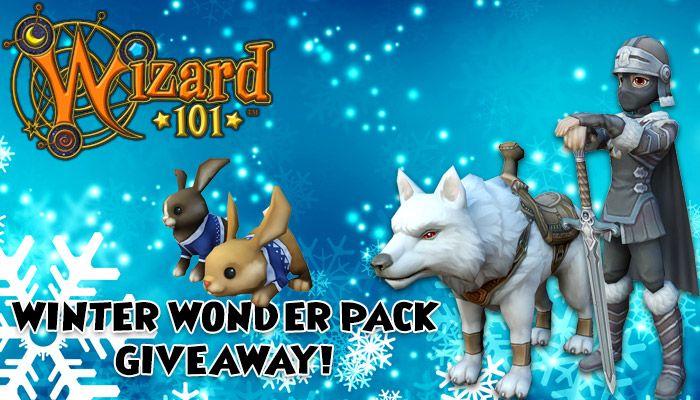 Wizard101 Winter Wonder 2017 Pack Giveaway! - MMORPG com