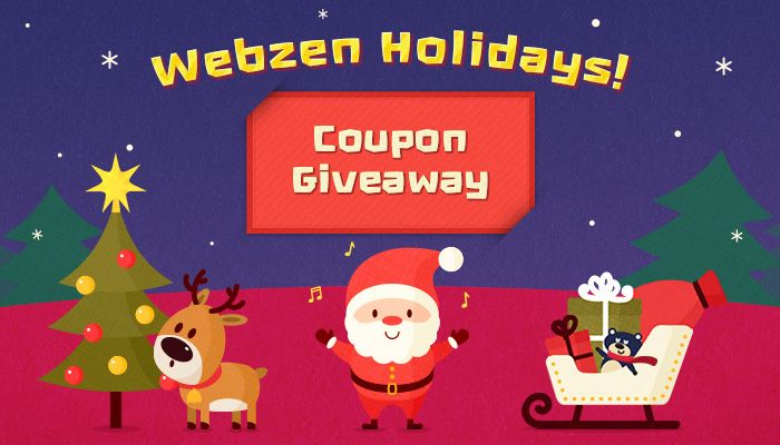 Webzen Winter Giveaway!