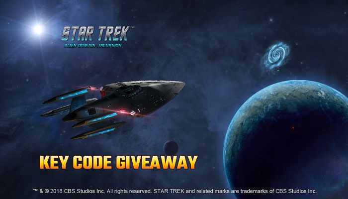 Star Trek Alien Domain: Incursion Key Giveaway!
