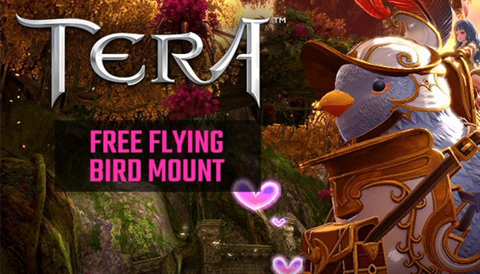 TERA Free Bird Flying Mount Giveaway! (North America server)