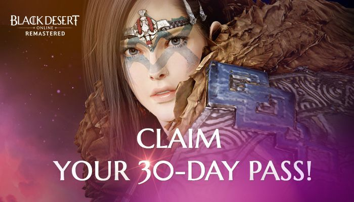 Black Desert Online - 30 Day Free Trial Giveaway!