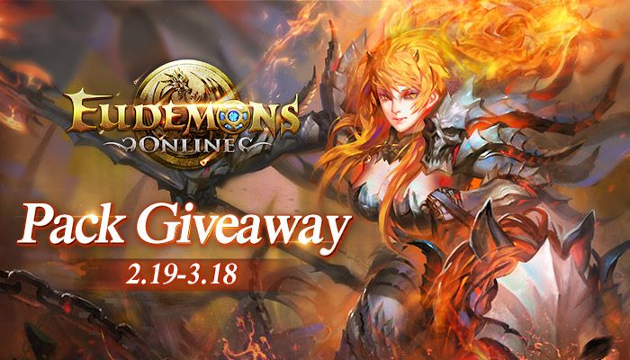 Eudemons Online Lucky Media Pack Giveaway!