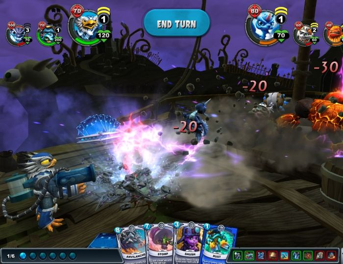 Skylanders Battlecast TCG Launches for Mobile Devices