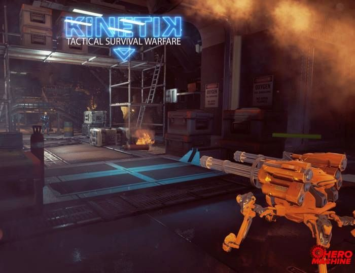KINETIK - Near Future Tactical RPG Shooter Announced