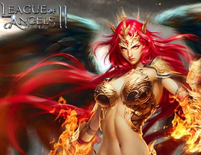 The Icy White Dragon Descends into Game - League of Angels II News