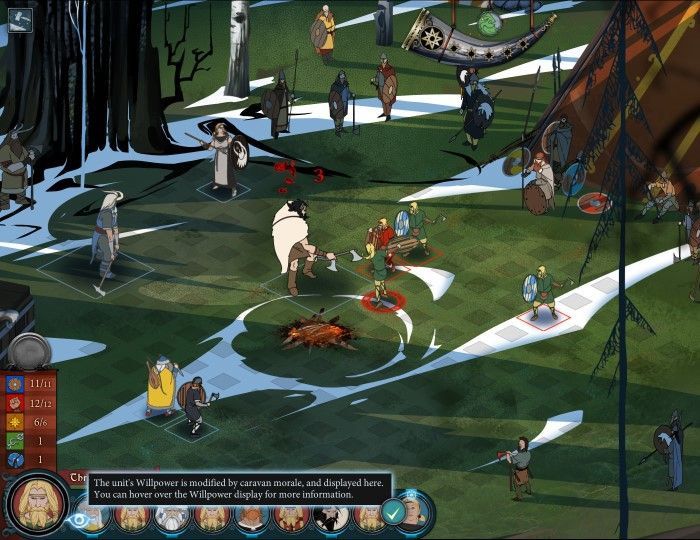 New Survival Mode Debuts - The Banner Saga 2 News