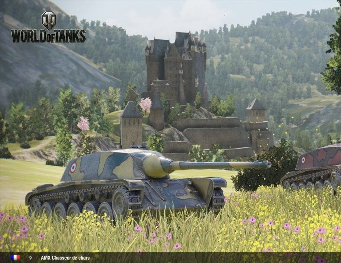 French Tanks Rumble Into Console Version - World of Tanks - MMORPG.com