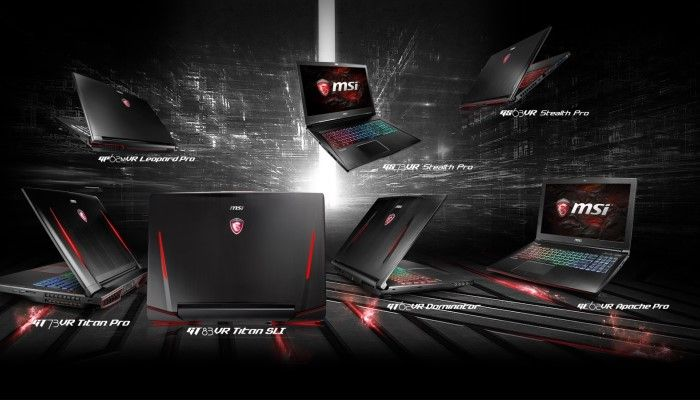 MSI Introduces New Nvidia GTX 10 Laptops