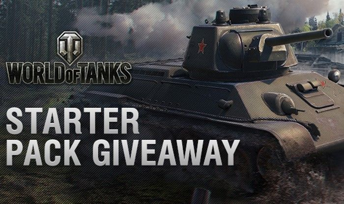 Starter Pack Giveaway! - World of Tanks News