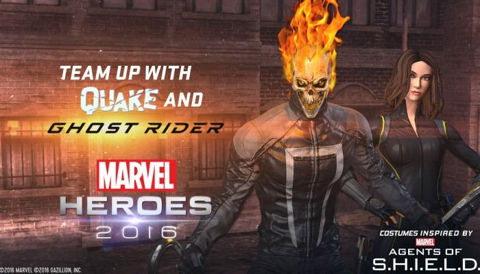 Ghost Rider & Quake Team-Up Heroes Arrive - Marvel Heroes Omega - MMORPG.com