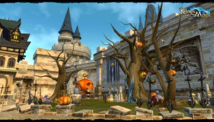 Latest Update Adds Pumpkin Festival - Runes of Magic News