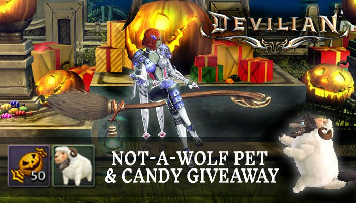 Not a Wolf Pet & Candy Giveaway! - MMORPG.com