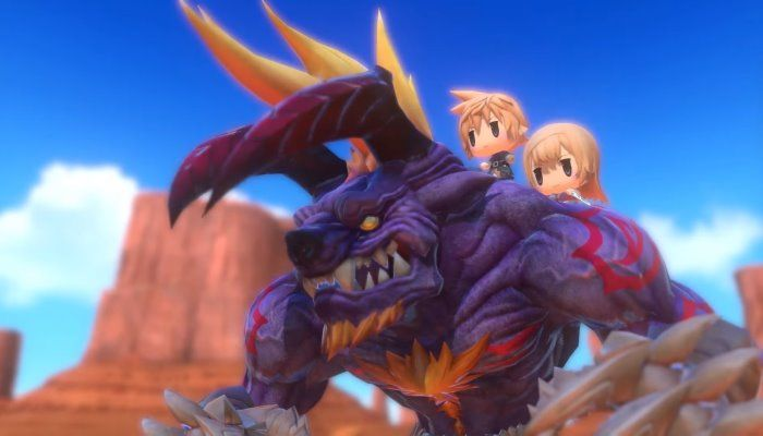World of Final Fantasy Launches for PS4 & PS Vita