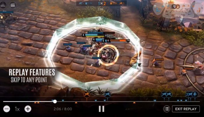 Replay Mode to Add Recording & Broadcasting Features - Vainglory - MMORPG.com