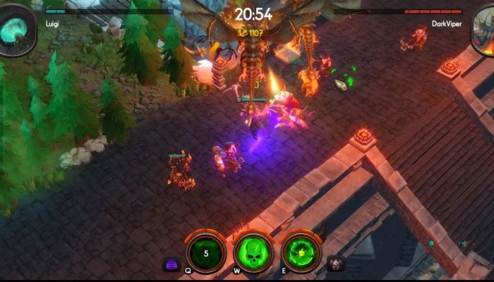 One Tower Micro-MOBA Launches Into Steam Early Access