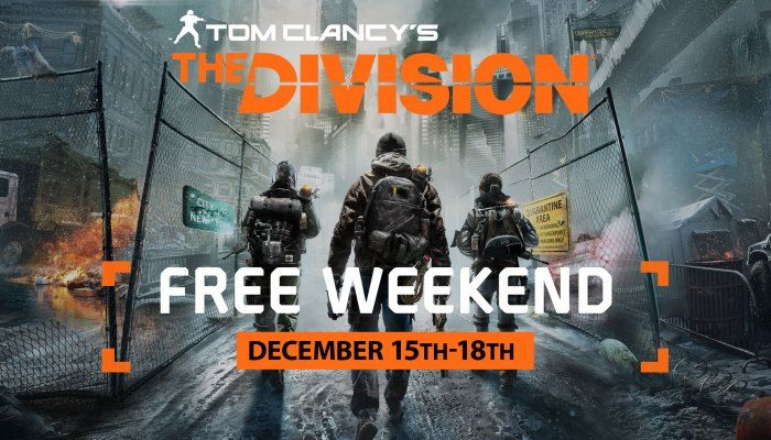 Free Play Weekend Starts Today - The Division News